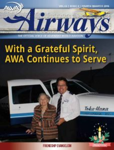 AirWays Magazine 4th Quarter - 2016