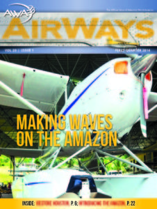 AirWays Magazine 1st Quarter - 2014