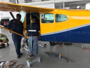 Guyana Plane Repair