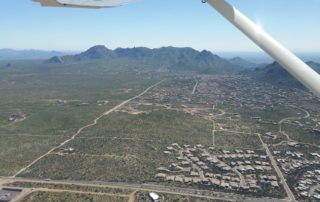 Scottsdale from air